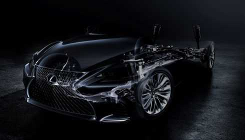 Lexus LS 2017 (teaser)