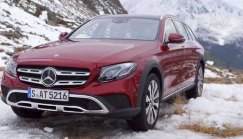 Mercedes-Benz E-Klasse All-Terrain 2017