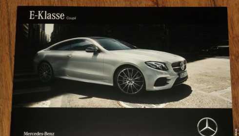 Mercedes-Benz E-Klasse Coupé 2017 (gelekt)