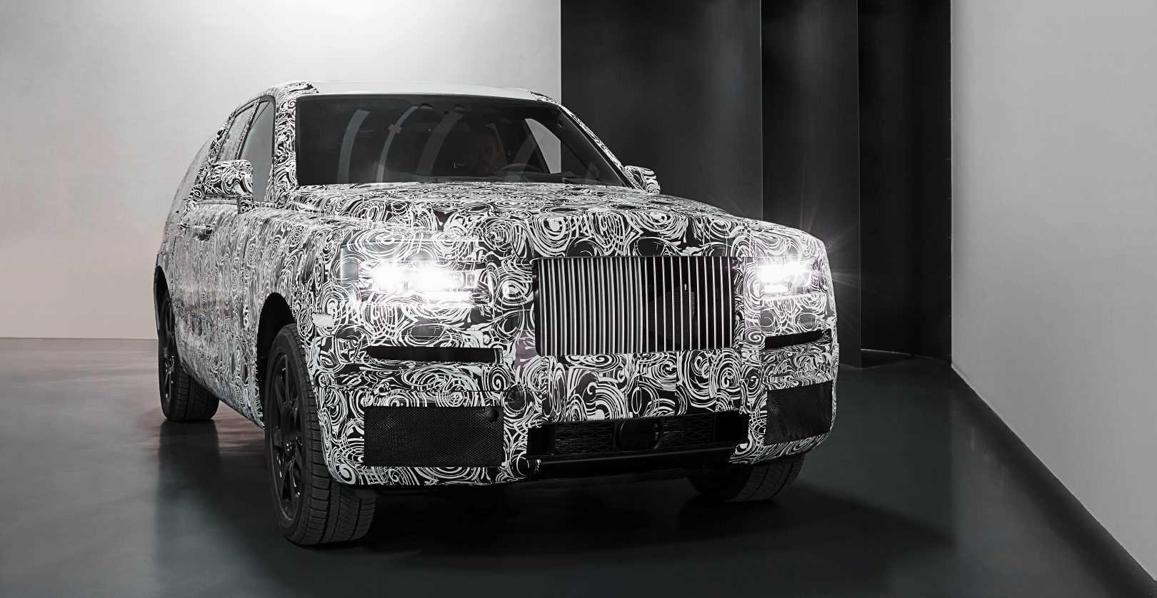 Rolls-Royce Project Cullinan 2017