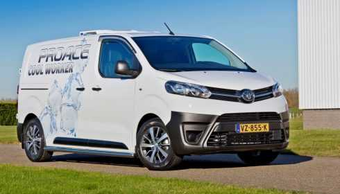 Toyota ProAce Cool Worker 2016