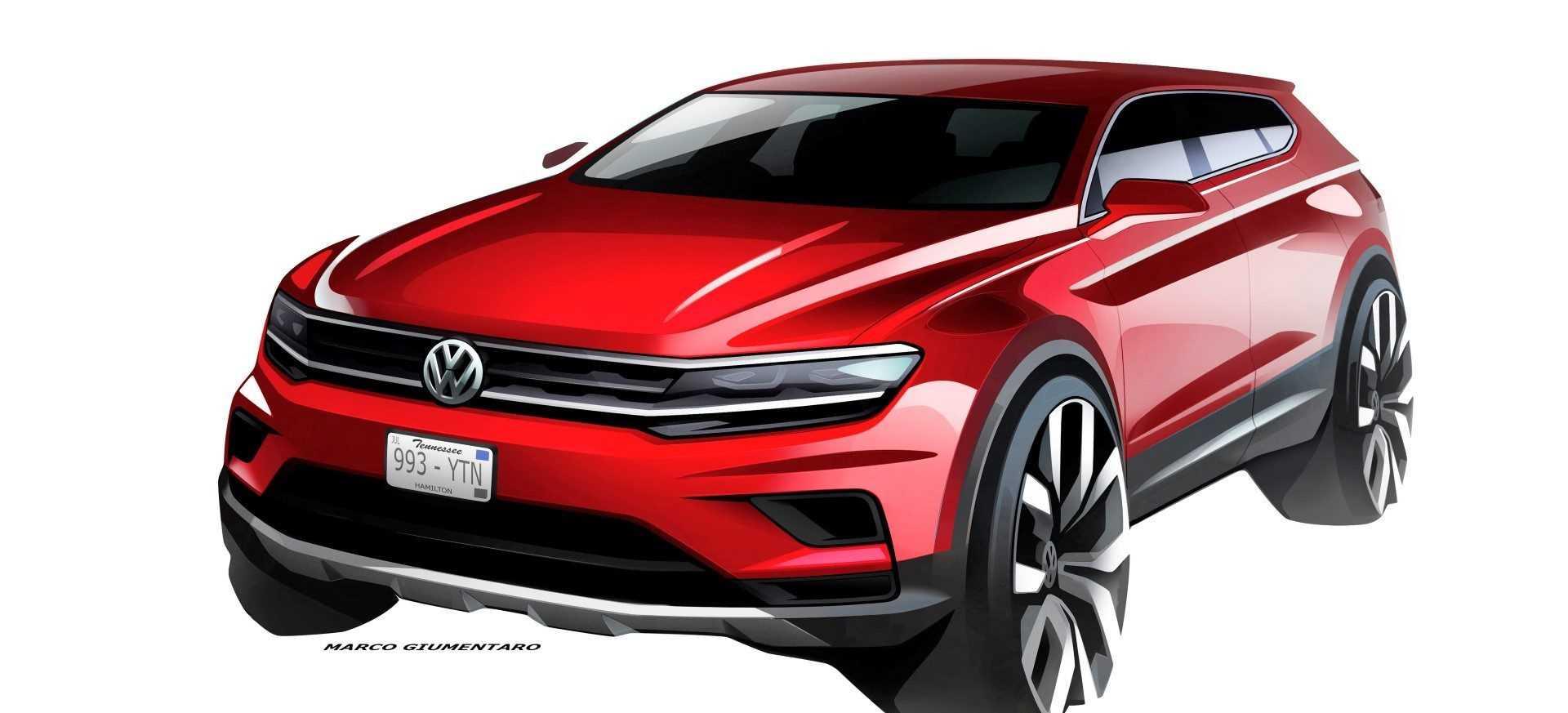 Volkswagen Tiguan Allspace 2017 (schets)