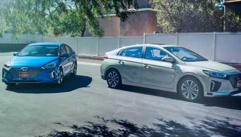 Hyundai IONIQ Autonomous CES 2017