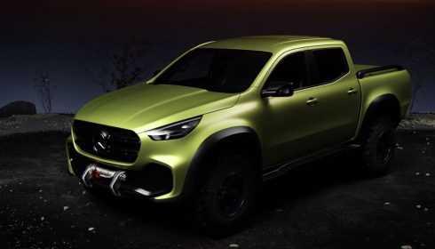 Mercedes-Benz Concept X-Klasse 2016