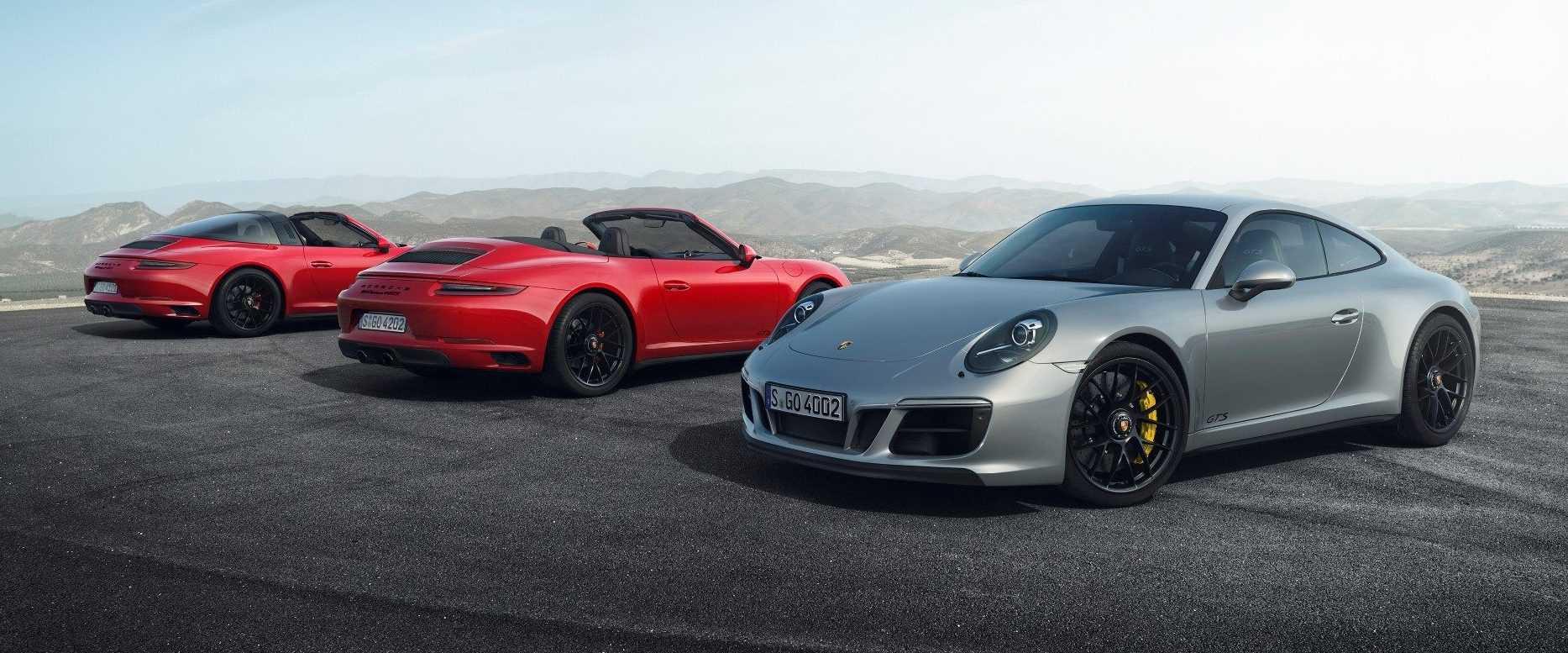 Porsche 911 Carrera GTS range 2017