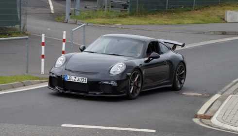 Porsche 911 GT3 2017 (spionage)