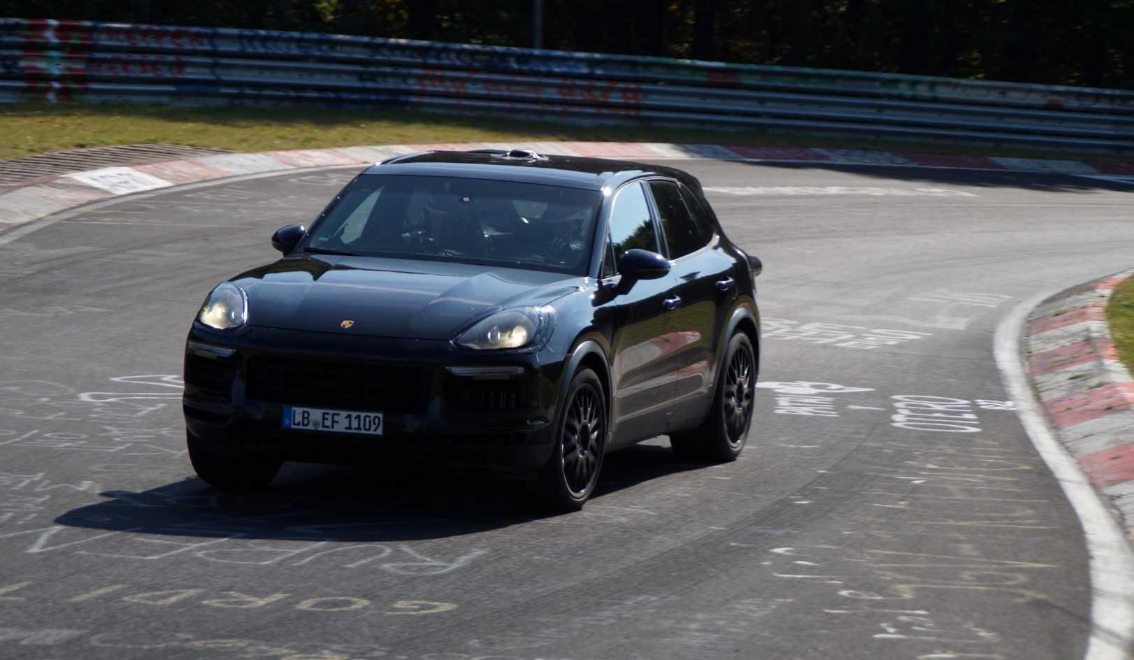 Porsche Cayenne 2018 (spionage)