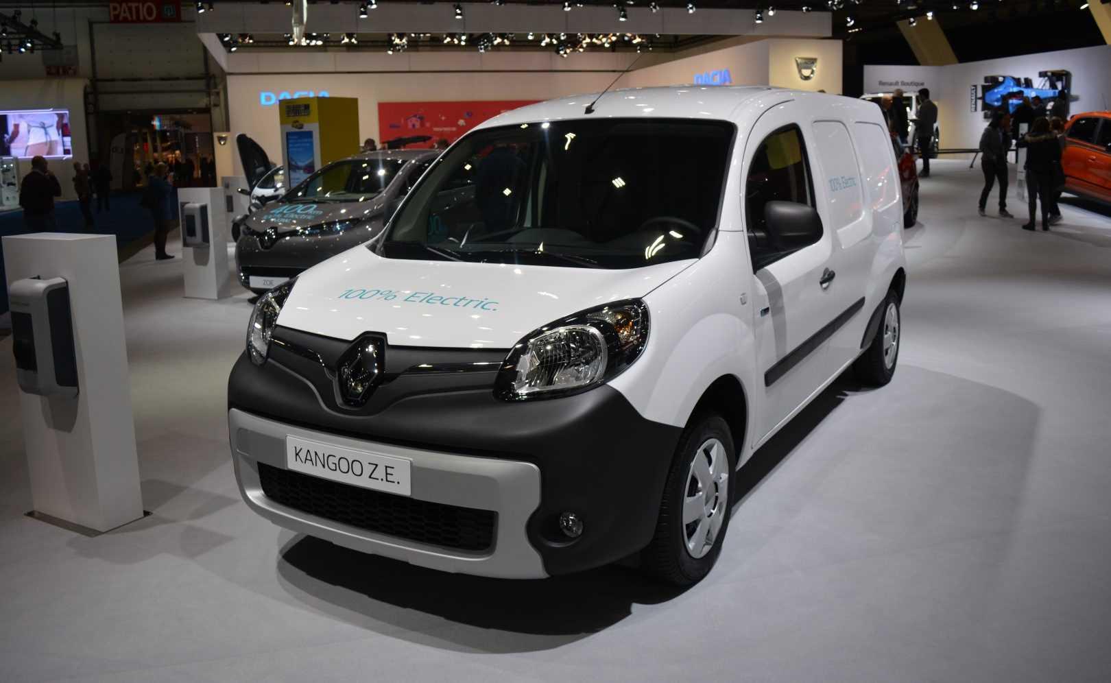 Renault Kangoo Z.E. 2017 (Autosalon Brussel 2017)