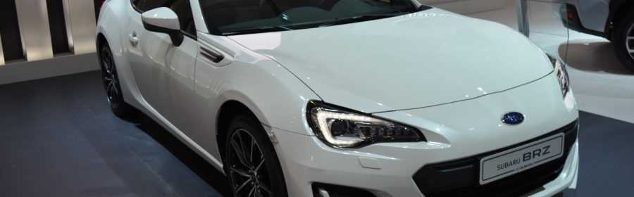 Subaru BRZ 2017 (Autosalon Brussel 2017)