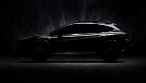 Subaru XV 2017 (teaser)