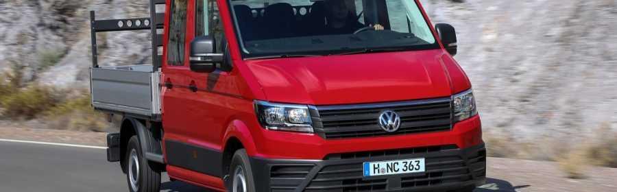 Prijskaartje Volkswagen Crafter Chassiscabine Bekend