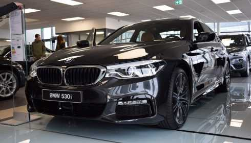 BMW 5 Serie Sedan 2017 (showroom debuut)