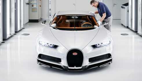 Bugatti Chiron 2017 (Molsheim fabriek)
