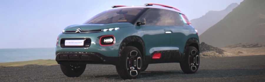 Citroën C-Aircross Concept 2017