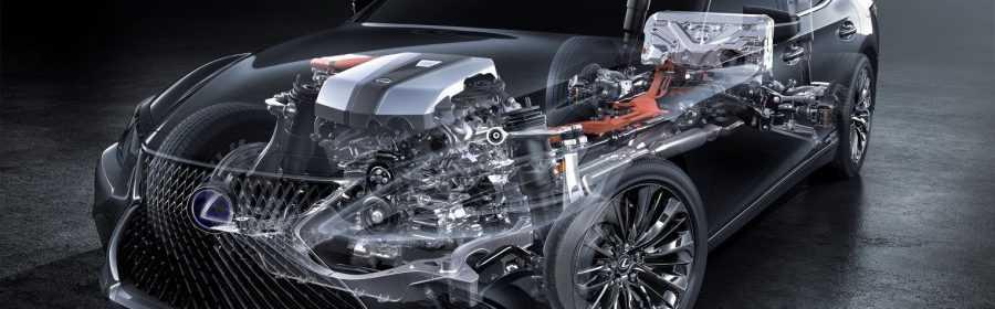 Lexus LS 500h 2017 (teaser)