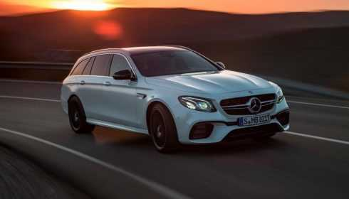 Mercedes-AMG E 63 S 4Matic+ Estate 2017