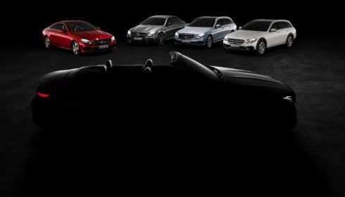 Mercedes-Benz E-Klasse Cabriolet 2017 (teaser)