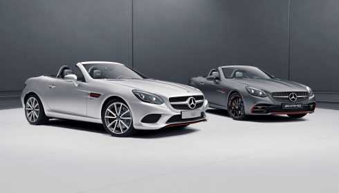 Mercedes-Benz SLC & Mercedes-AMG SLC 43 RedArt Edition 2017