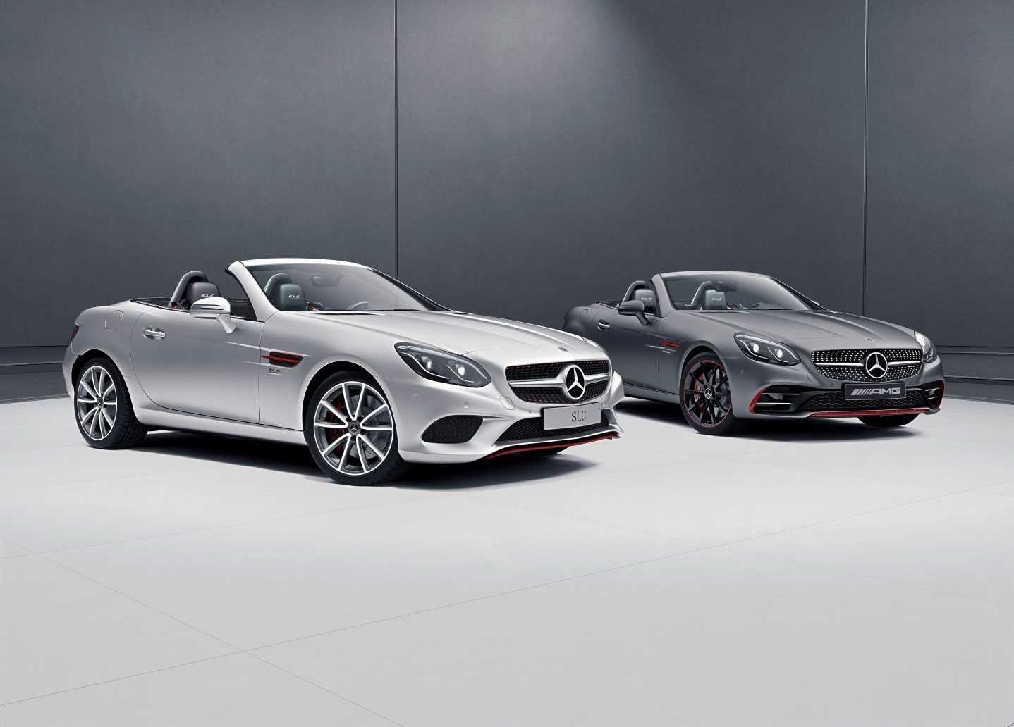 Mercedes-Benz SLC & Mercedes-AMG SLC 43 RedArt Edition 2017