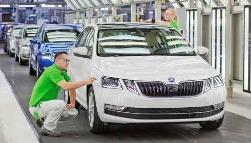 Productie vernieuwde Škoda Octavia gestart