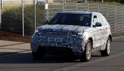 Range Rover Velar 2017 (spionage)