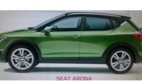 Seat Arona 2017 (gelekt)