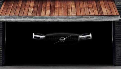 Volvo XC60 2017 (teaser)