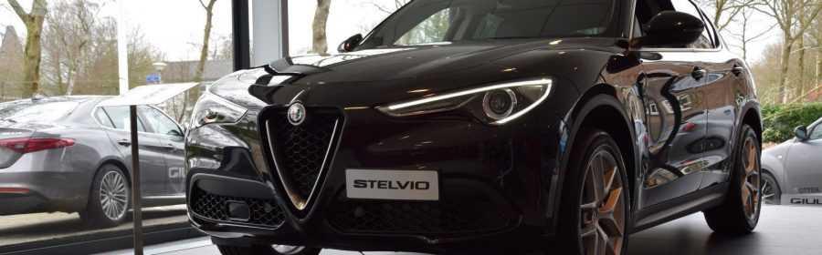 Alfa Romeo Stelvio 2017 (showroom debuut)