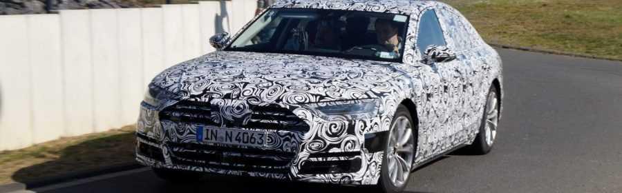 Audi A8 2017 (spionage)