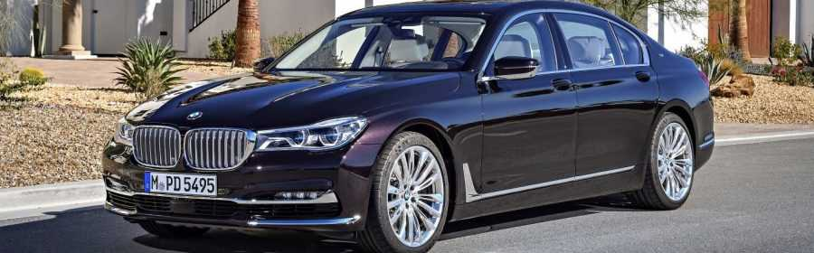 BMW M760Li xDrive V12 Excellence 2017