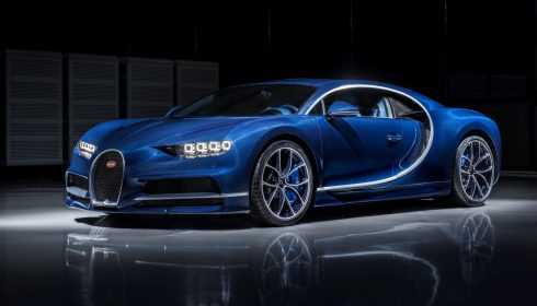 Bugatti Chiron 2017 (Blue Royal)