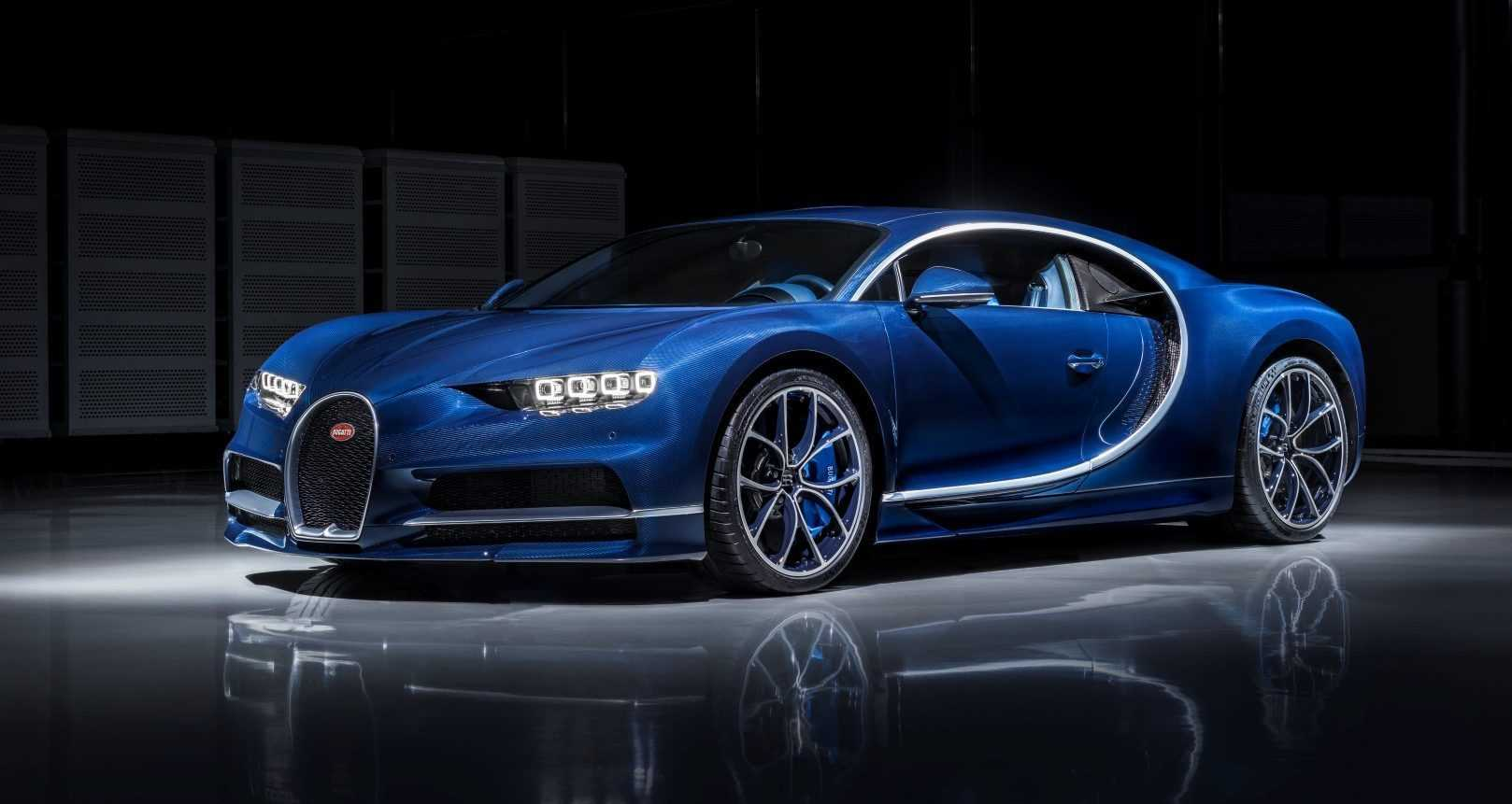 Bugatti Chiron 2017 (Blue Royal)