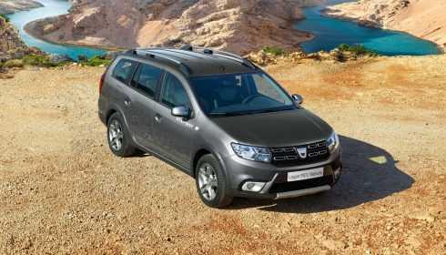 Dacia Logan MCV Série Limitée Stepway 2017