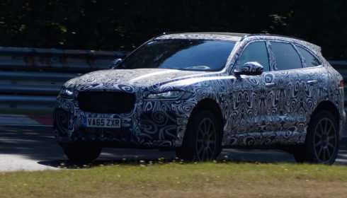 Jaguar F-Pace SVR 2017 (spionage)
