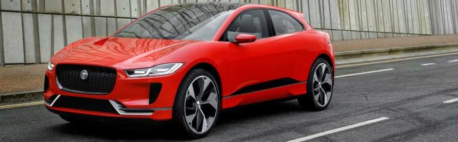 Jaguar I-Pace Concept 2017 (Photon Red)