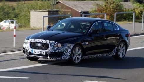 Jaguar XE facelift 2018 (spionage)