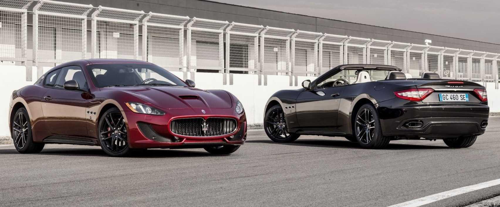 Maserati GranCoupé & GranCabrio Special Edition 2017