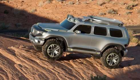 Mercedes-Benz Ener-G-Force Concept 2012