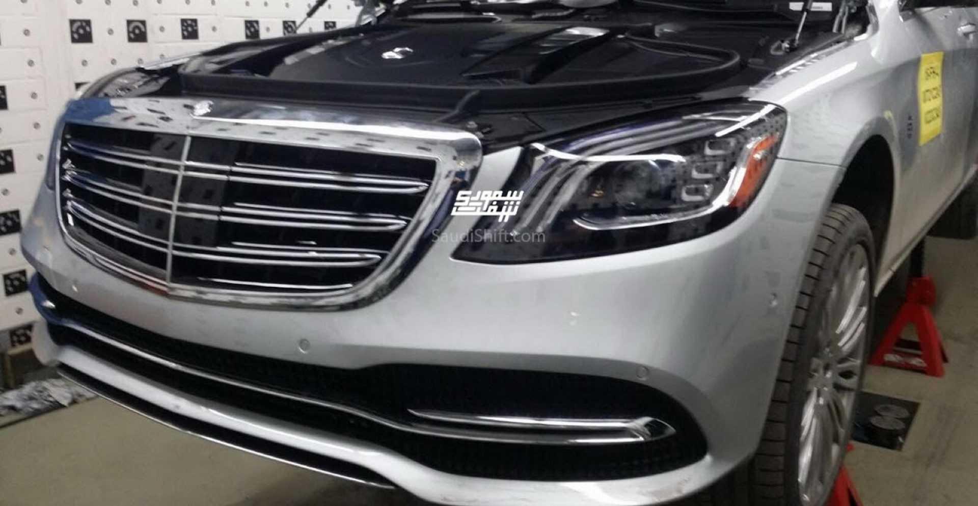 Mercedes-Benz S-Klasse facelift 2017 (gelekt)