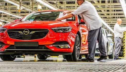 Opel Insignia Grand Sport 2017 (productiestart)