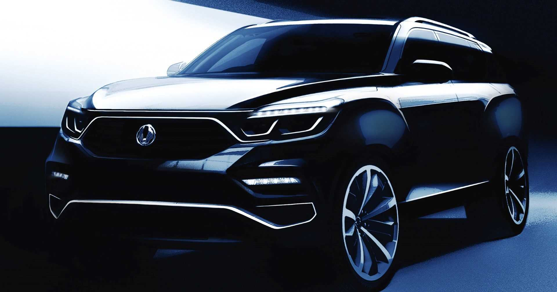 SsangYong Y400 2017 (schets)