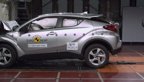 Toyota C-HR 2016 (Euro NCAP)