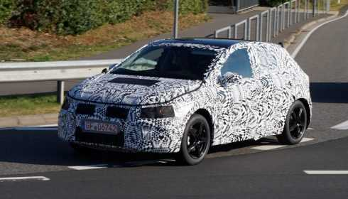 Volkswagen Polo 2017 (spionage)