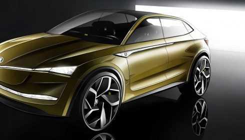Škoda Vision E Concept 2017
