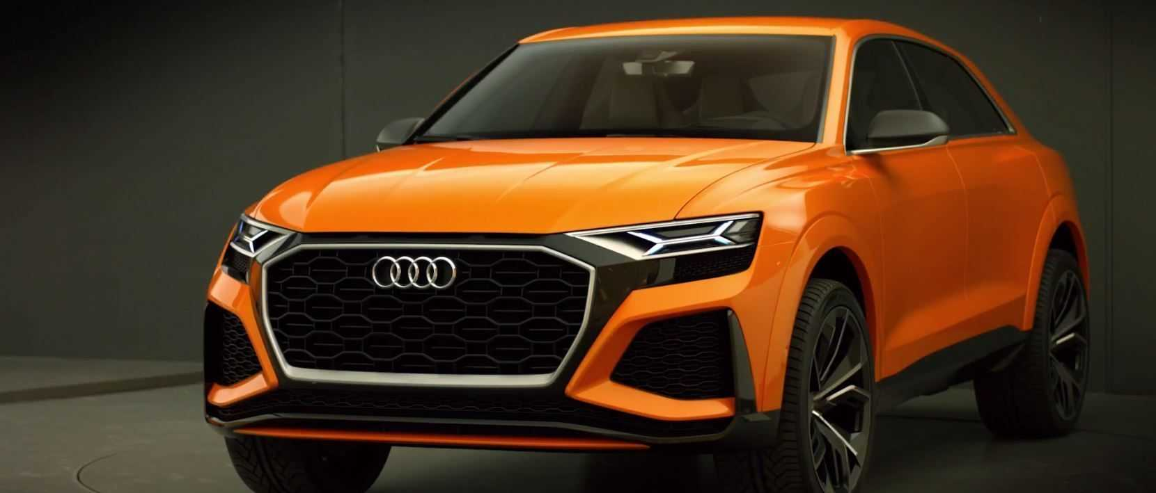 Audi Q8 sport concept 2017