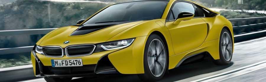 BMW i8 Protonic Frozen Yellow Edition 2017