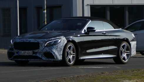 Mercedes-AMG S 63 Cabriolet 2018