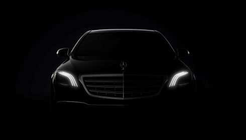 Mercedes-Benz S-Klasse 2017 (teaser)