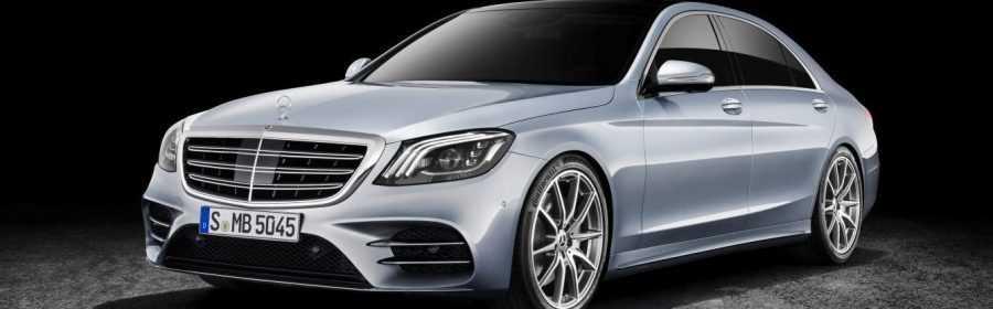 Dit is de opgefriste Mercedes-Benz S-Klasse Limousine ...