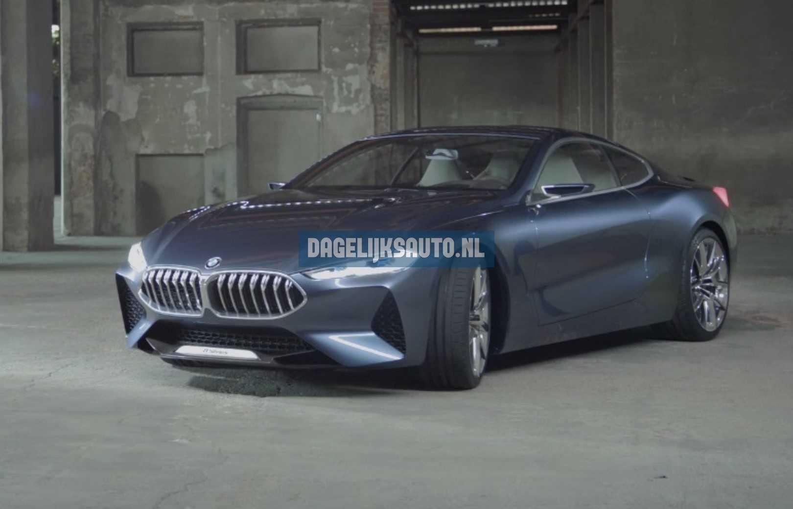 BMW 8 Serie Coupé Concept 2017